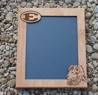 wood picture frame  cut out